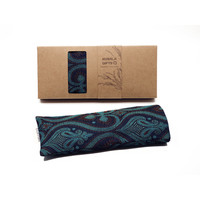Kusala Eye Pillow Silk - Rotterdam Dark Blue