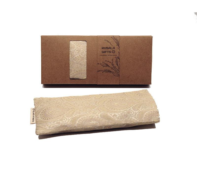 Kusala Eye Pillow Silk - Paris Ecru