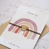 A Beautiful Story Schmuck Karte   - Choose Joy
