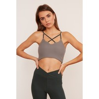 Wolven Crisscross Four-Way Top - Thyme