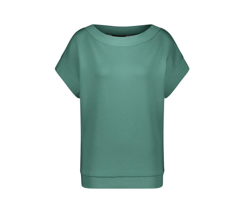 House of Gravity Bateau Sweater - Green Jade