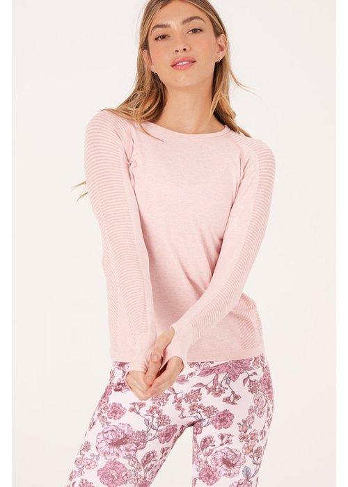 Onzie Onzie Seamless Long Sleeve - Soft Pink