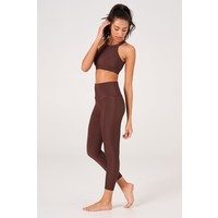 Onzie Sweetheart Midi Legging - Brown Rib