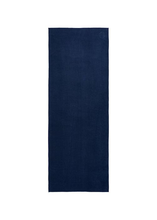 Manduka Manduka eQua Handdoek 200cm 67cm - Midnight