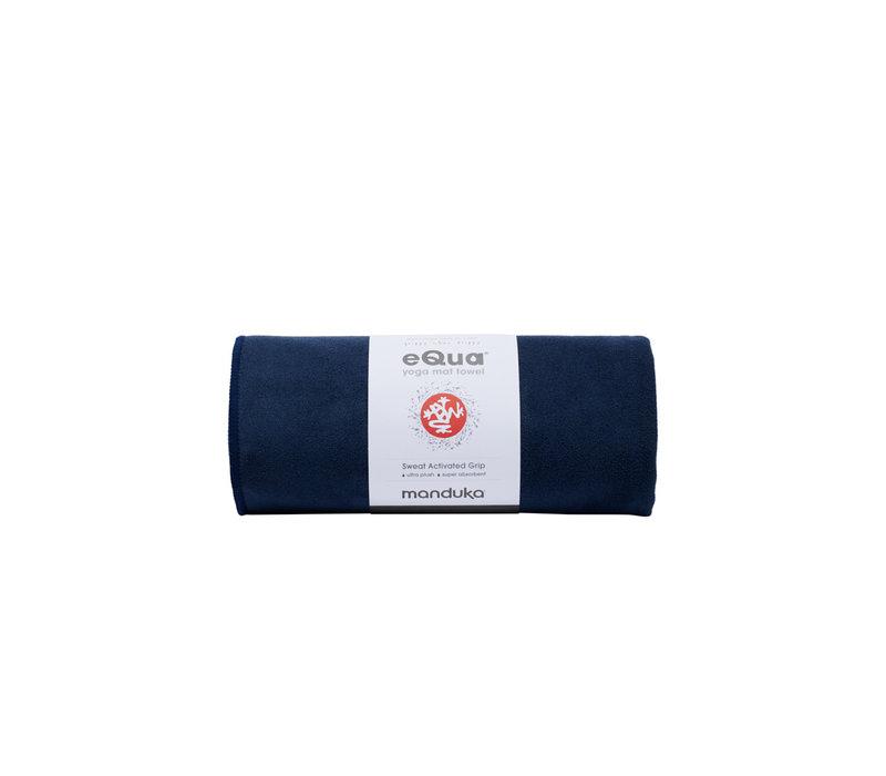 Manduka eQua Towel 200cm 67cm - Midnight
