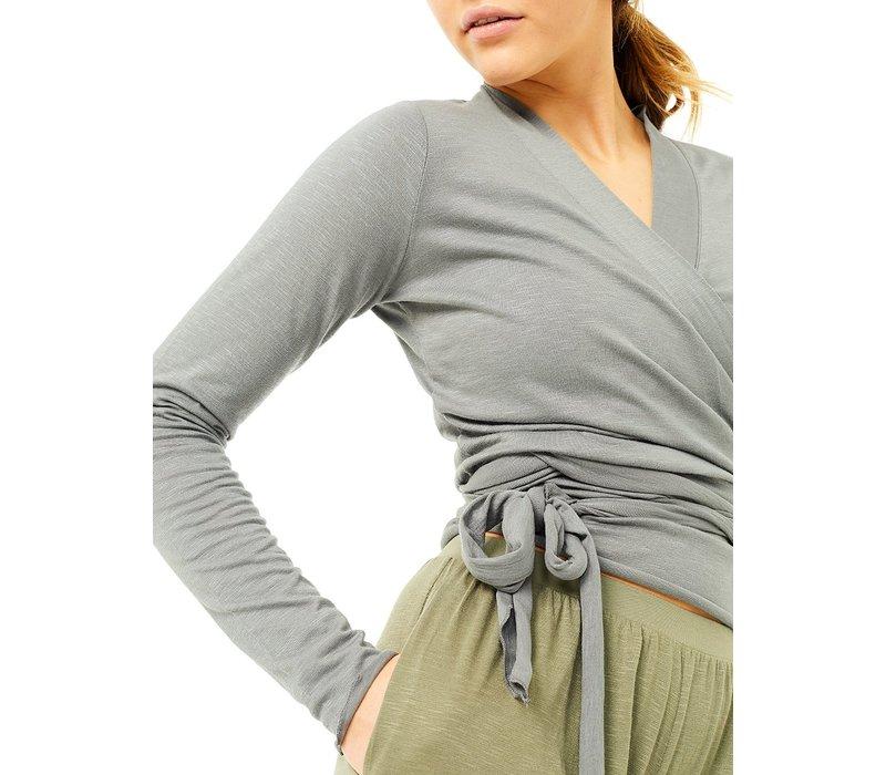 Mandala Easy Wrap - Grey