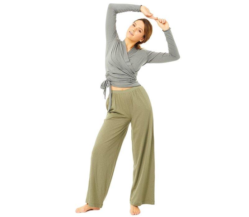 Mandala Extra Wide Pants - Thyme