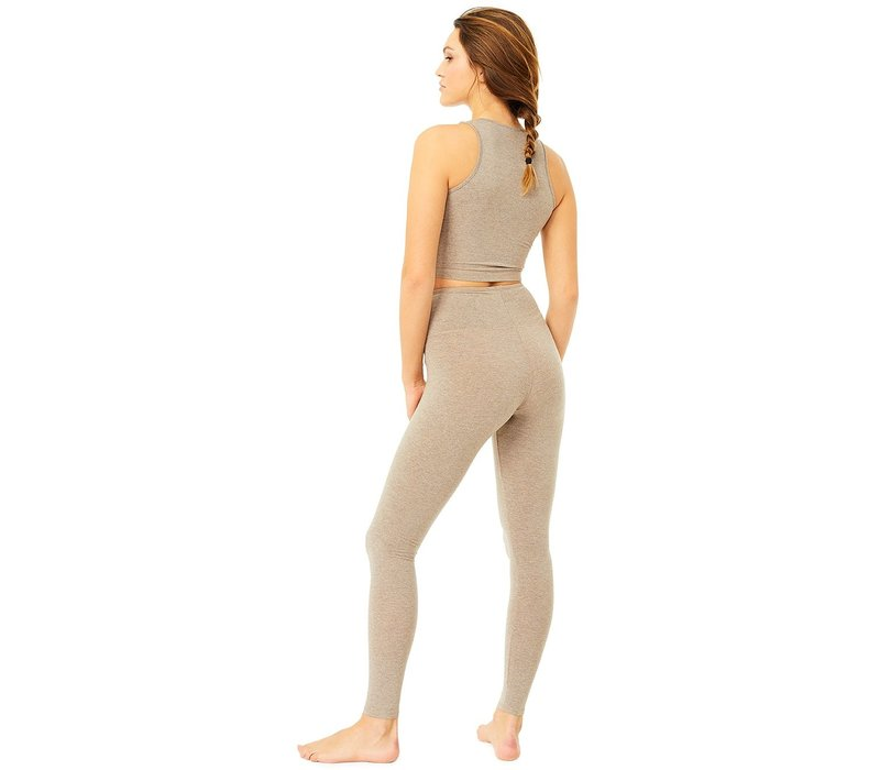 Mandala High Rise Legging - Silver Lining