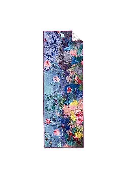 Yogitoes Yogitoes Yoga Towel 172cm 61cm - Illuminated Floral