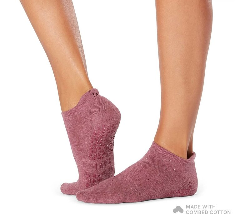 Tavi Noir Grip Socks Savvy - Garnet