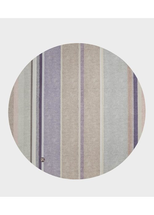Manduka Manduka eQua Round Yoga Mat - Linen Stripe