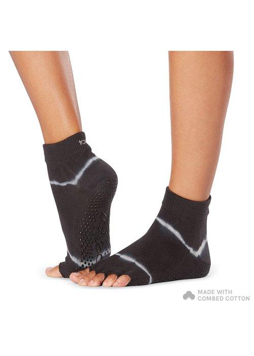 Toesox Toesox Ankle Half Toe - Horizon