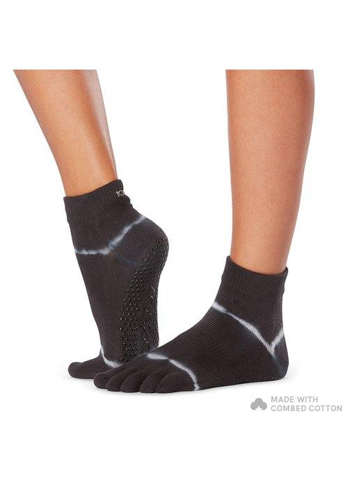 Toesox Toesox Yoga Sokken Enkelhoogte Dichte Tenen - Horizon