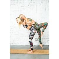 Yoga Democracy Yoga Legging - Pretty In Black