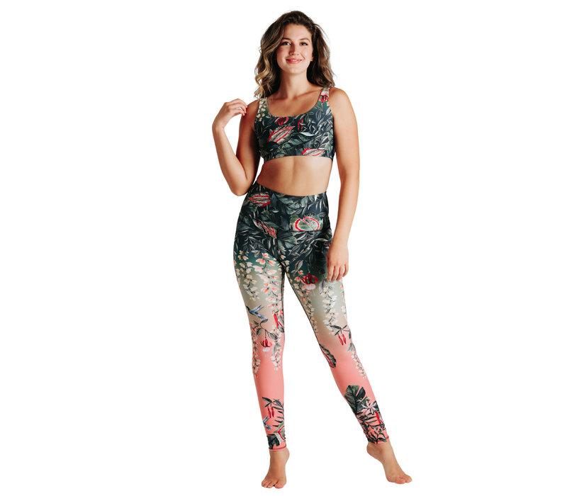 Yoga Democracy Yoga Legging - Feeling Ferntastic