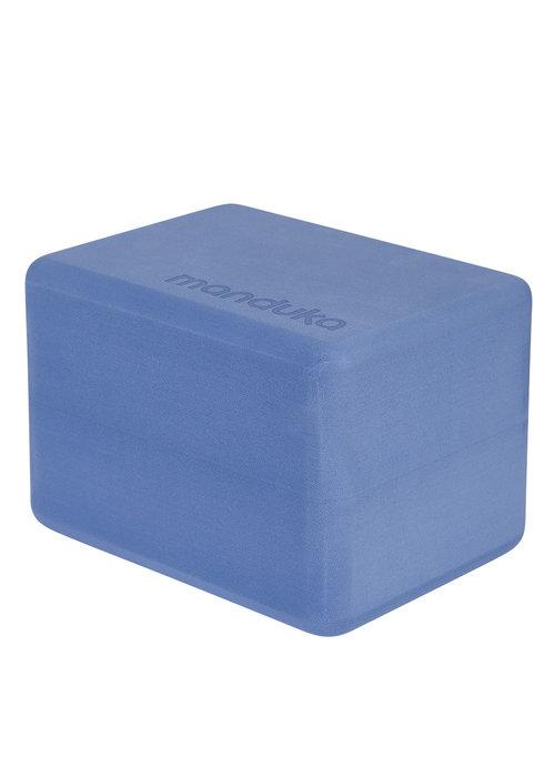 Manduka Manduka Mini Travel Yoga Block - Shade Blue