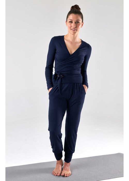 Asquith Asquith Long Harem Pants - Navy