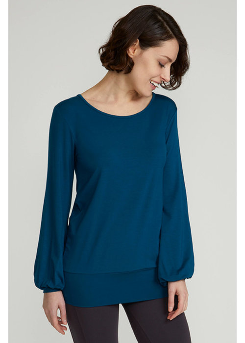 Asquith Asquith Long Sleeve Smooth You Tee - Marine Blue