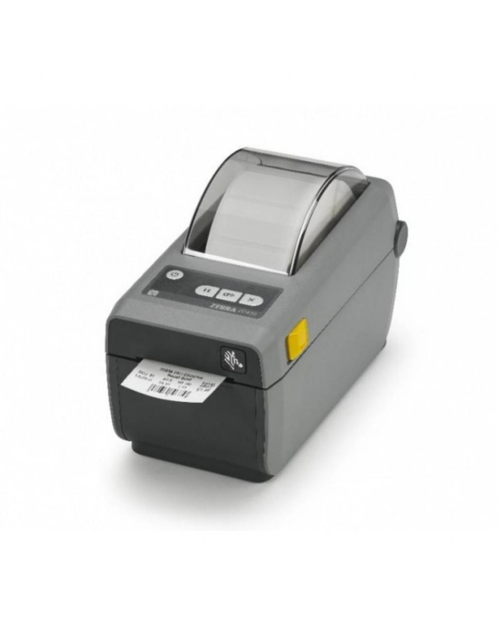 Zebra Zebra ZD410, Direct Thermisch, 12 dots/mm (203 dpi), USB, Bluetooth (BLE, 4.1), WiFi, Kleur donkergrijs - IOS