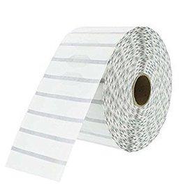 Zebra Zebra Juwelierslabels - 56mm x 13mm - met flapjes - doos met 6 rollen