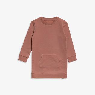 Sweat dress Sweat dress - Oud roze