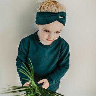 Haarband Headband - Petrol