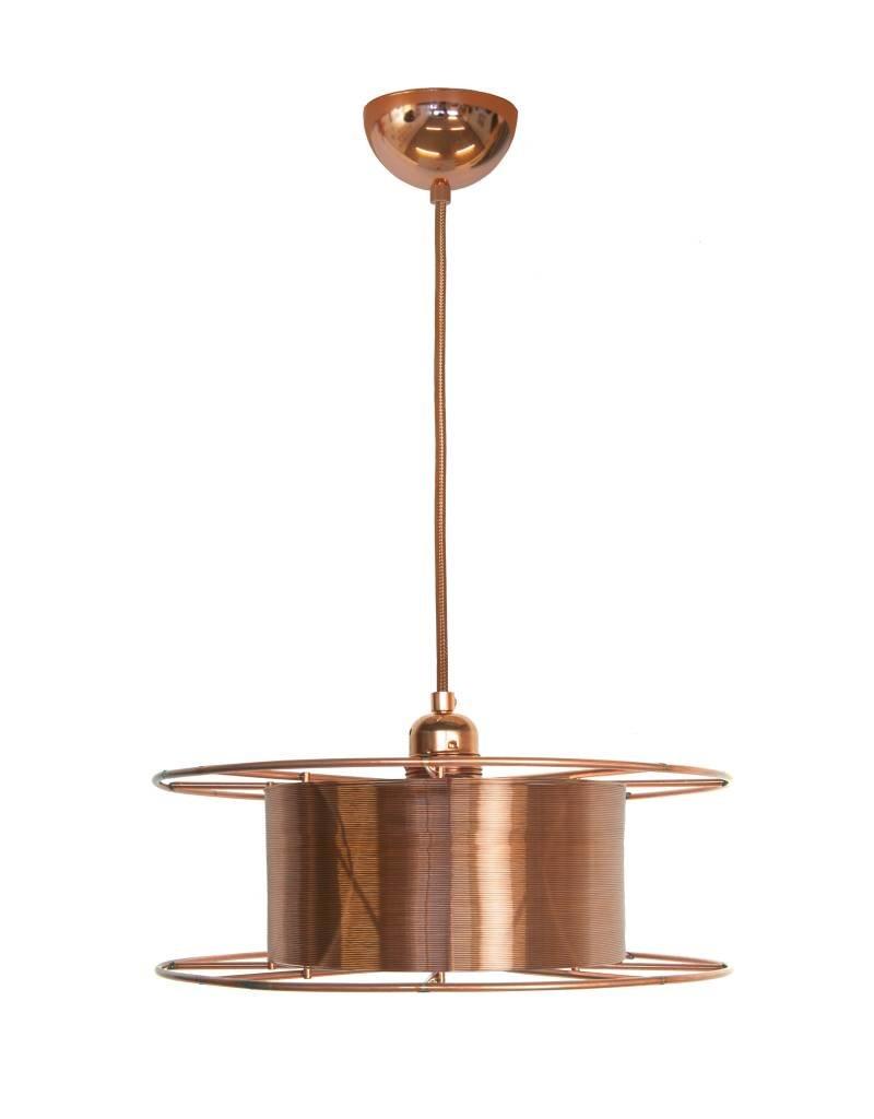 Lamp (hangend) koperdraad