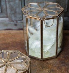 Glazen Pot Goud