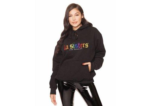 La Sisters LA Sisters Rainbow Hoodie