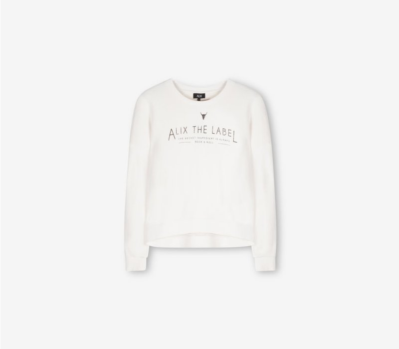 Alix Heavy loop sweater 194810221