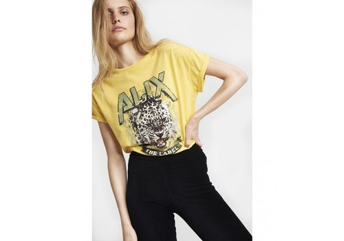 ALIX The Label Alix knitted Tiger t-shirt
