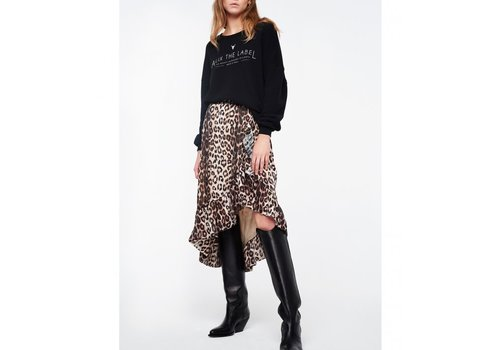 ALIX The Label alix animal jaquard skirt