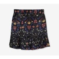 Alix multi colour satin short skirt
