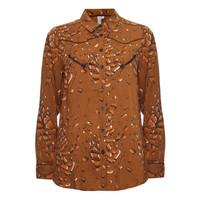 Melt Leopard blouse