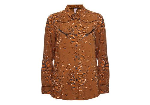 Melt Melt Leopard blouse