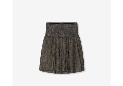 ALIX The Label Alix Lurex mesh short skirt