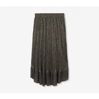 Alix Lurex mesh long skirt