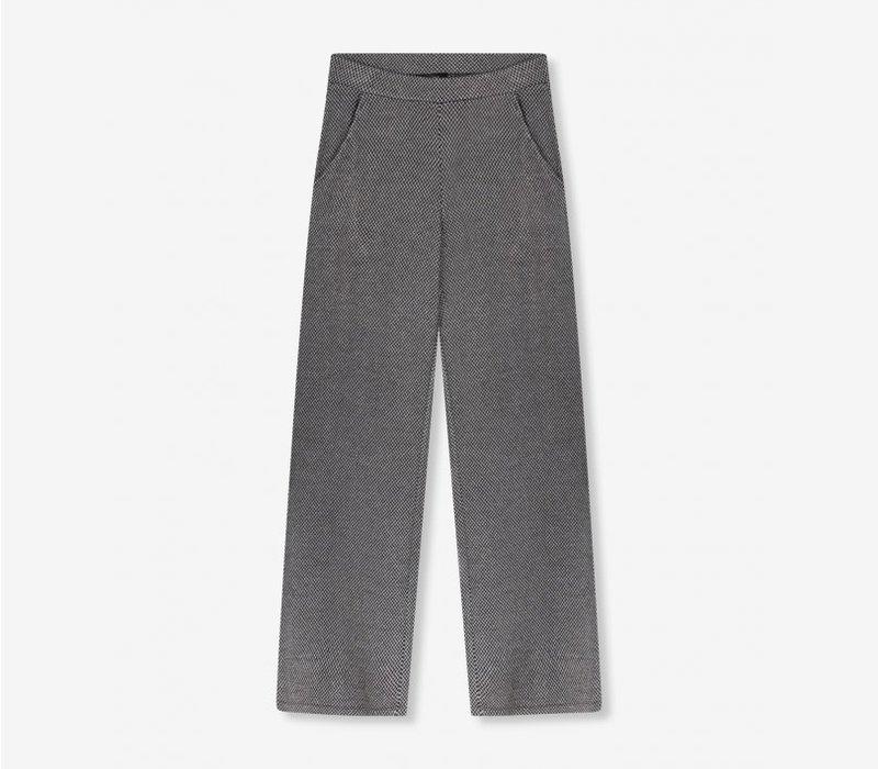 Alix Wide leg herringbone pants