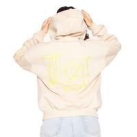 LA Sisters oversized pocket hoodie