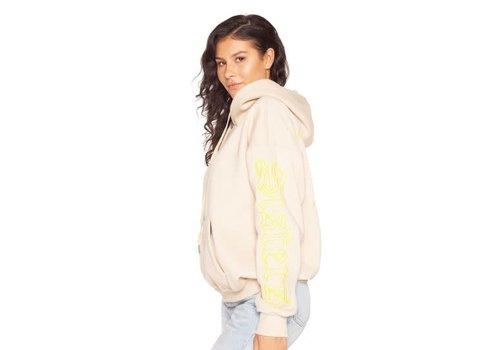 La Sisters LA Sisters oversized pocket hoodie