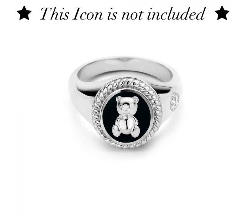 Mi Moneda Icons ring OVAAL