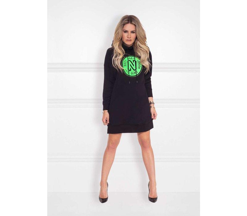 Nikkie Logo hoodie dress N5-856