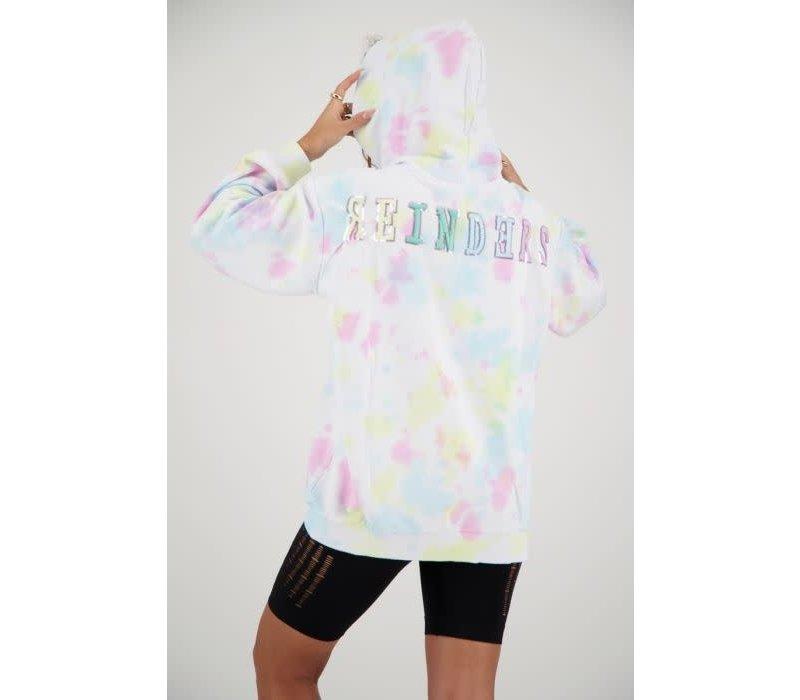 Reinders hoodie tie dye