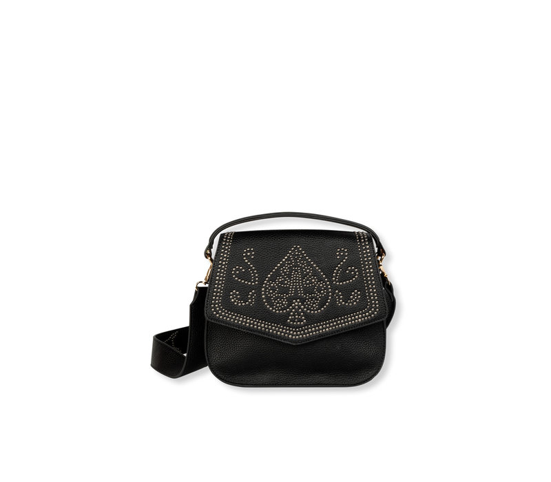 Alix Faux leather small bag with studs 201071526