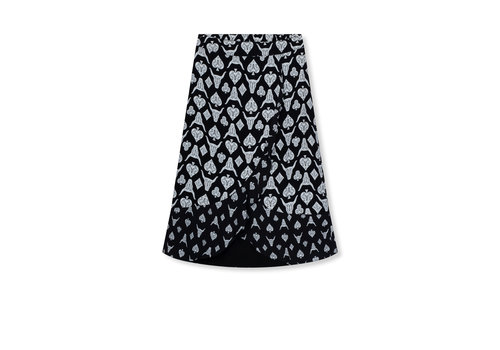 ALIX The Label Alix Playing cards skirt