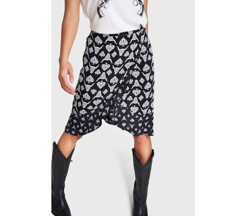 Alix Playing cards skirt 201241441