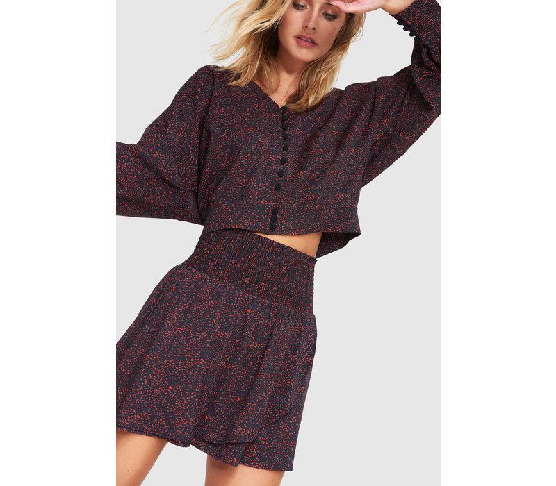 Alix Mini print skirt 201254504