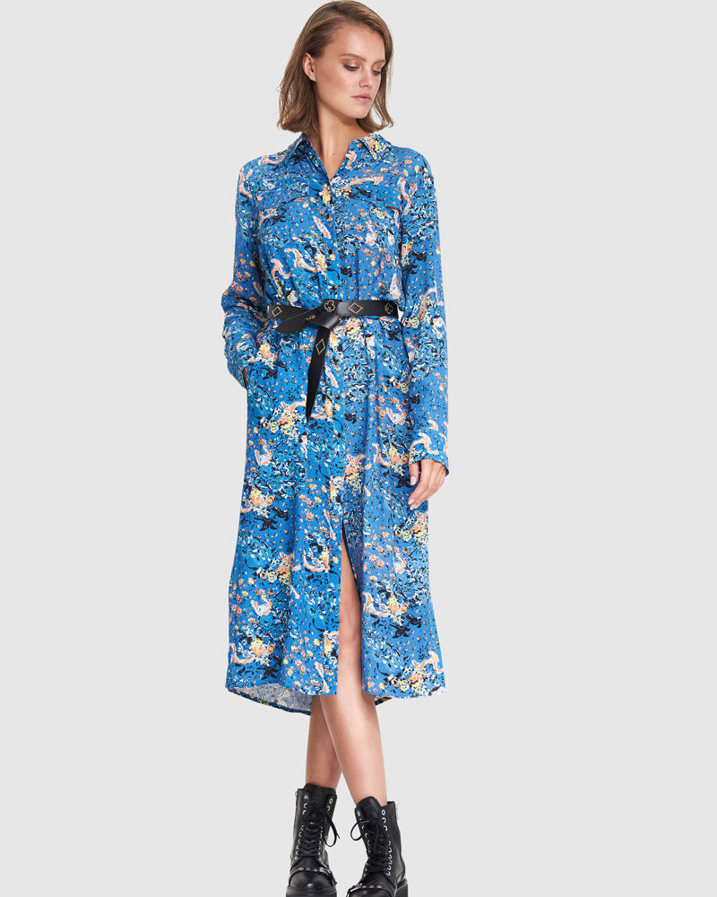 ALIX The Label Alix the label Western flower tunic dress 201310540