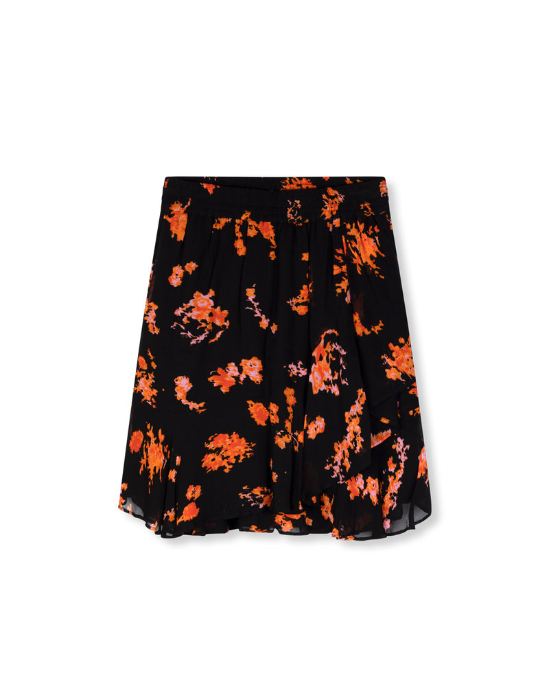 ALIX The Label Alix the label Short flower chiffon skirt 201240444