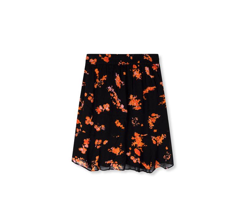 Alix Short flower chiffon skirt 201240444